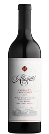 2015 Cabernet Sauvignon, Willow Creek Vineyard